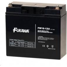 FUKAWA Baterie - FUKAWA FW 18-12 U (12V/18Ah - M5), životnost 5let