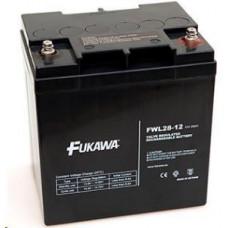 FUKAWA Baterie - FUKAWA FWL 28-12 (12V/28 Ah - M5), životnost 10let