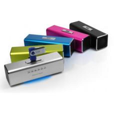 TECHNOSONIC Technaxx MusicMan, baterie 600 mAh, FM, USB, růž.