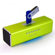 TECHNOSONIC Technaxx MusicMan, baterie 600 mAh, FM, USB, zele.