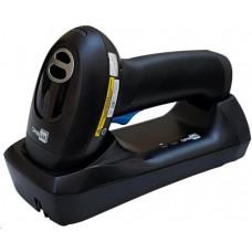 CIPHERLAB 2564 bezdrátová čtečka 2D a QR kódů, Bluetooth, černá se závěsným poutkem, USB Kit