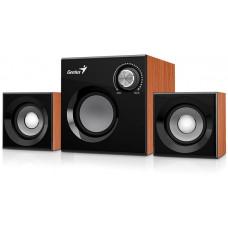 GENIUS Speaker GENIUS SW-2.1 370 WOOD SPK 8W (6W+1W X 2)