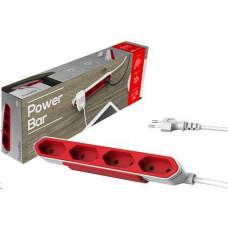 POS RBAR prodlužovací kabel, červený