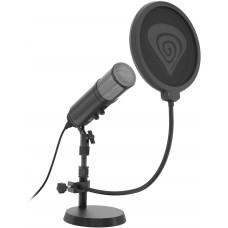NATEC Streamovací mikrofon Genesis Radium 600, USB