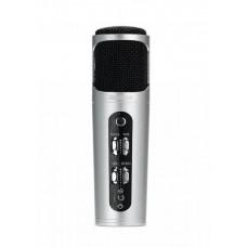 REMAX RM-K02, mikrofon, stříbrný