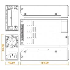 Seasonic zdroj 300W SSP-300SUG, 80+ Gold, Flex ATX v1.0