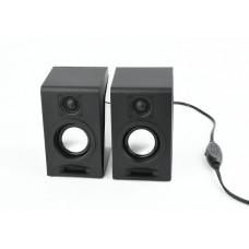 GEMBIRD Stereo speaker set, black,