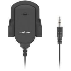 NATEC Mikrofon Natec Fox, prílepný držák, 3,5mm jack, 1,8m