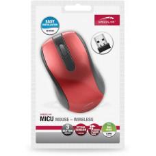 Speedlink SPEED LINK Bezdrátová myš SL-6314-RD MICU Mouse - USB, red