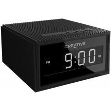 CREATIVE LABS CREATIVE CHRONO Wireless speaker alarm clock,black