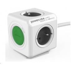 PowerCube Allocacoc EXTENDED SWITCH bílá / šedá