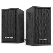 NATEC Reproduktory 2.0 Natec Panther 6W, dřevo