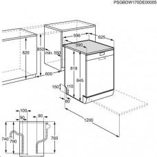 Electrolux ESF9500LOX myčka 60 cm