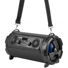 NATEC Bluetooth reproduktor UGO Bazooka 16W, 2.1, karaoke, mikrofon, FM rádio, MP3, AUX