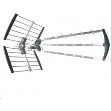 Solight venkovní DVB-T anténa, 39dB, UHF, 21. - 60. kanál, LTE/4G filtr