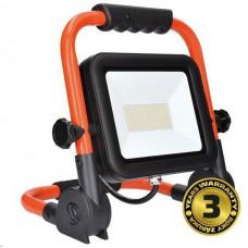 Solight LED reflektor PRO se sklopný stojanem, 100W, 8500lm, 5000K, kabel se zástrčkou, IP65