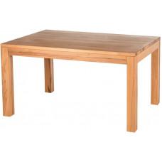 Doble rozkládací jídelní stůl, 140 x 90, jádrový buk