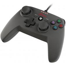 NATEC Drátový gamepad Genesis P58, pro PS3/PC, vibrace