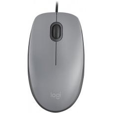 LOGITECH myš Logitech M110 Silent - MID GRAY - USB