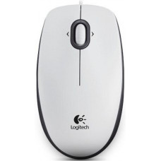 LOGITECH OEM Myš Logitech B100 Optical USB Mouse, bílá