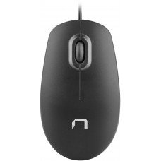 NATEC Optická myš Natec Magpie 1600 DPI, černá, 1,8m