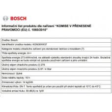 Bosch KGN39XW37 kombinovaná chladnička