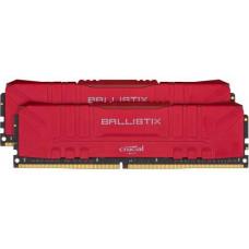 CRUCIAL 16GB=2x8GB Ballistix DDR4 3200MHz CL16 1.35V Red