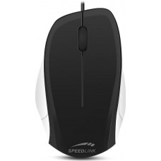 SPEED LINK LEDGY Mouse - USB, Silent, black-white