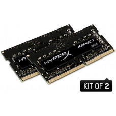 HYPERX SO-DIMM 64GB DDR4-2666MHz CL16 HX Impact, 2x32GB