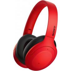 SONY sluchátka WH-H910N červená