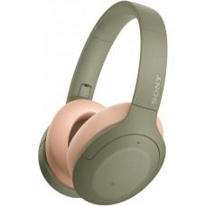 SONY sluchátka WH-H910N zelená