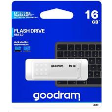 GoodRAM Flash Disk 16GB UME2, USB 2.0, bílá