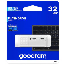 GoodRAM Flash Disk 32GB UME2, USB 2.0, bílá