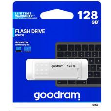 GoodRAM Flash Disk 128GB UME2, USB 2.0, bílá