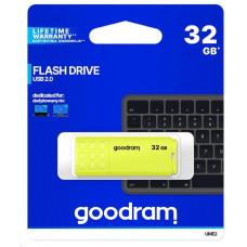 GoodRAM Flash Disk 32GB UME2, USB 2.0, žlutá