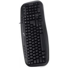 GENIUS Klávesnice GENIUS KB-M200 USB CZ+SK black