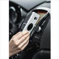 Hama Alu, držák mobilu do vozidla, připevnění na větrací mřížku