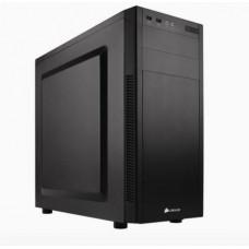 CORSAIR 100R silent Carbide Series černý Midi-Tower ATX PC Case (2x USB3, audio), bez zdroje