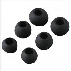 Thomson sluchátka s mikrofonem EAR3005, silikonové špunty, černá