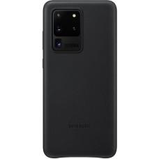 SAMSUNG Kožený kryt pro S20 Ultra Black