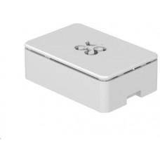 Raspberry Okdo krabička pro Raspberry Pi 4B, bílá