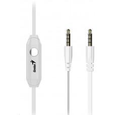 GENIUS HS-M228 sluchátka, bílá