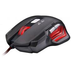 C-TECH Akantha herní myš, červené podsvícení, USB