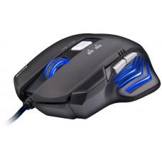 C-TECH Akantha herní myš, modré podsvícení, USB