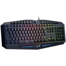 GENIUS Klávesnice GENIUS K9 Black, gaming, CZ+SK