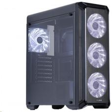 Zalman case Zalman miditower i3, mATX/ATX/Mini-ITX, 4× ventilátory, bez zdroje, USB3.0, černá