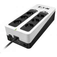 Eaton 3S 550 FR, UPS 550VA / 330W, 6 zásuvek (3 zálohované), USB