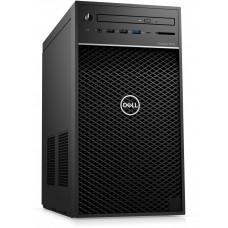 DELL Precision T3630 E-2174G/16GB/256GB SSD+1TB/P2000-5GB/DVD-RW/USB-C/DP/W10P/3RNBD/Černý