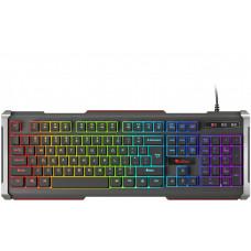 GENESIS Herní klávesnice Genesis Rhod 400 RGB, US layout, 6-zónové RGB podsvícení