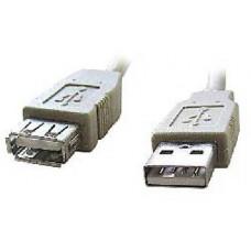 Gembird Kabel GEMBIRD C-TECH USB A-A 3m 2.0 prodlužovací HQ Black, zlacené kontakty
